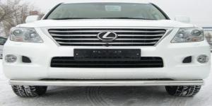 Lexus LX 570 защита переднего бампера d76 LLZ-000263